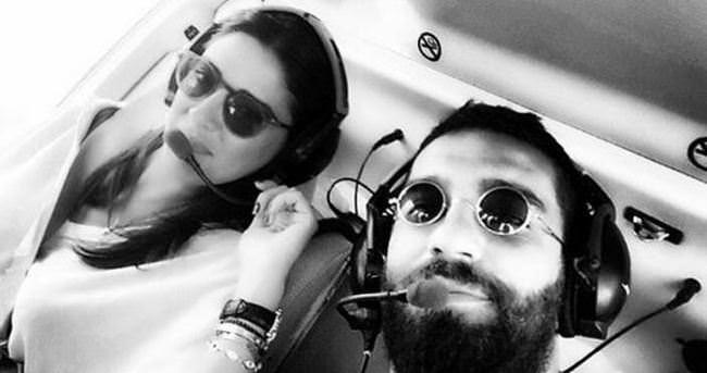 Barcelona'yı helikopterle gezdiler