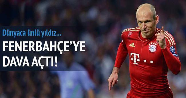 Robben Fenerbahçe'ye dava açtı