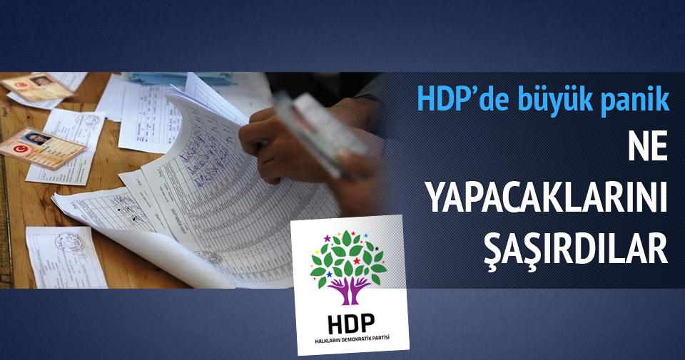 HDP'yi hile yapamama paniği sardı!