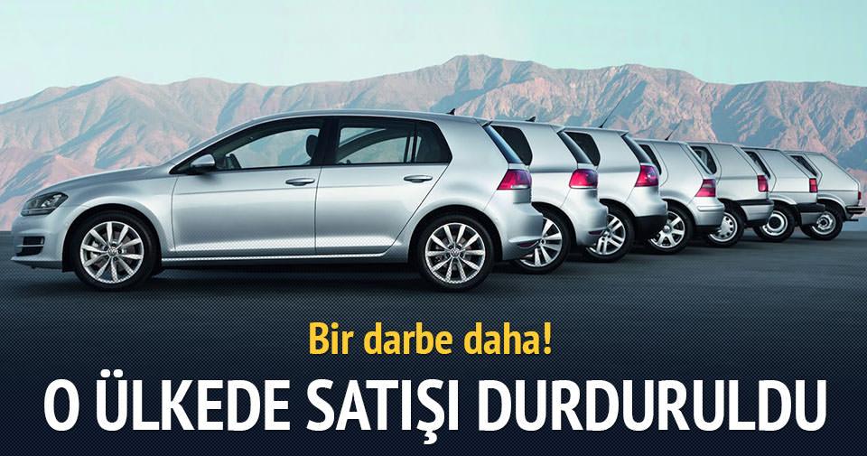 İsviçre'de Volkswagen satışlarını durdurdu