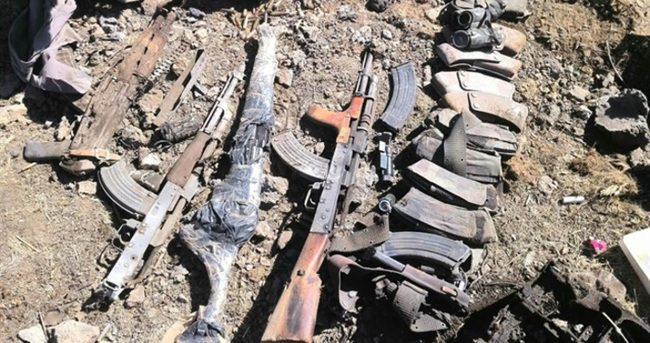 PKK'nın bomba üretim merkezi imha edildi