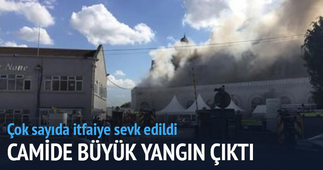 Beytül Fütuh camisinde yangın çıktı
