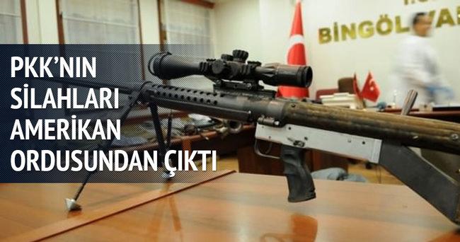 PKK'nın bilinmeyen silahı ABD ordusundan çıktı