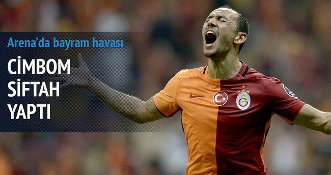 Galatasaray Arena'da siftah yaptı