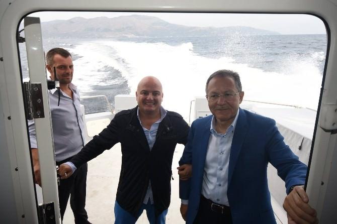 Marmara'da Deniz Taksi Sevinci