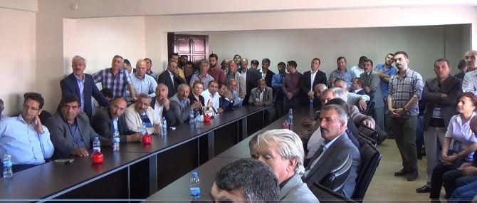 Kars AK Parti Milletvekili Adayları Partililerle Buluştu