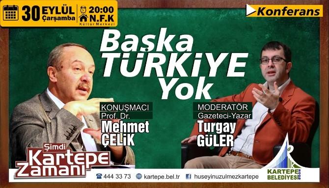 Kartepe'de Başka Türkiye Yok Konferansı