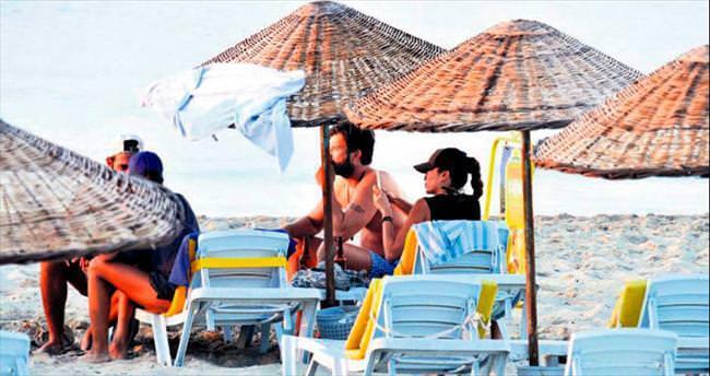 Tatlıtuğ halk plajında