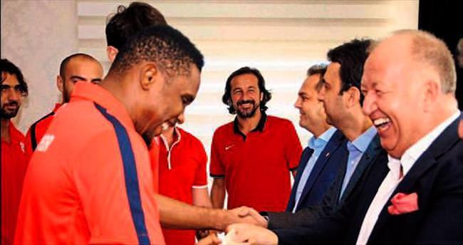 Akdeniz'de futbol bayramı
