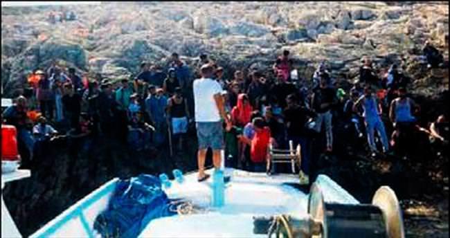 Issız adadan 3 gün sonra kurtarıldılar