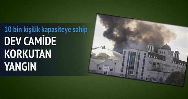 Londra'daki dev camide yangın