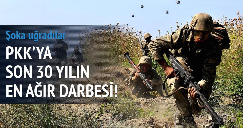 PKK son otuz yılın darbesi