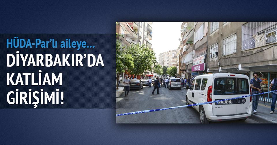 Diyarbakır'da katliam girişimi