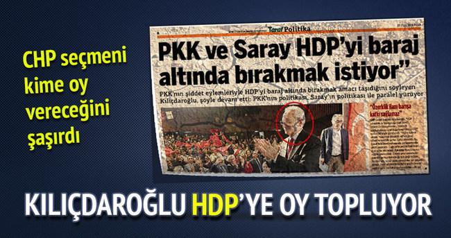 Kılıçdaroğlu'ndan HDP'ye destek!