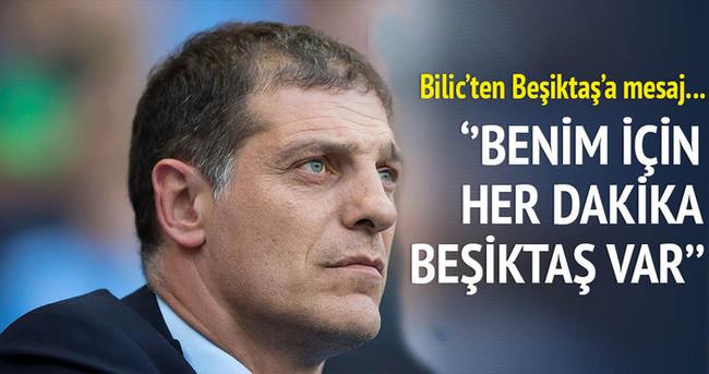 Bilic'ten Beşiktaş'a mesaj