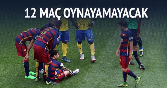 Dünya Messi'den 12 maç yoksun
