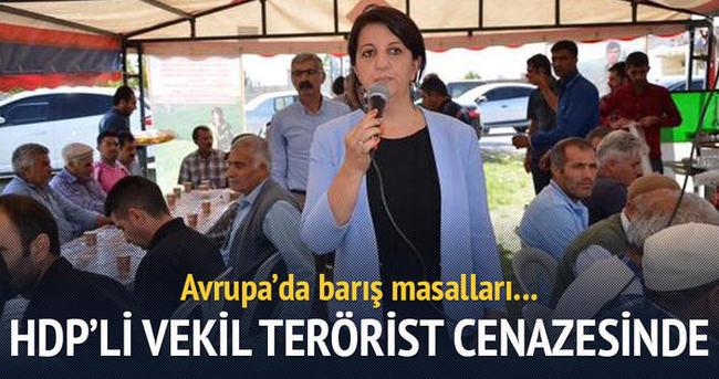 HDP'li Buldan teröristin taziyesine gitti
