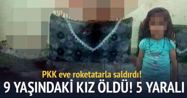 PKK'dan roketatarlı saldırı: 9 yaşındaki çocuk öldü!