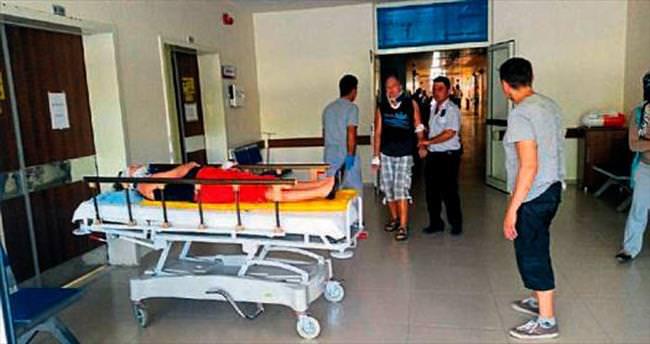 Safari kazasında 7 kişi yaralandı