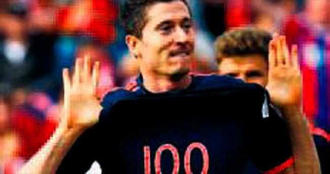 Lewandowski 100'ler kulübünde