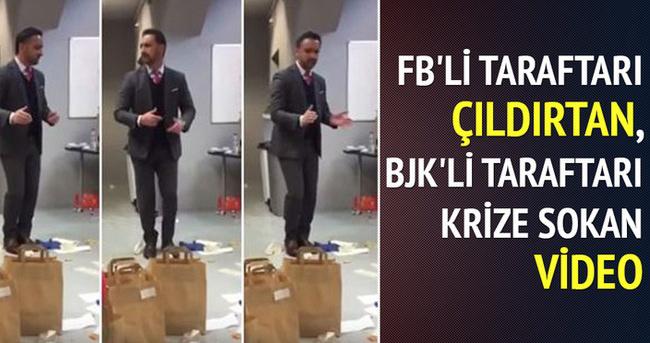 Beşiktaşlılar Pereira'nın videosunu paylaşıyor