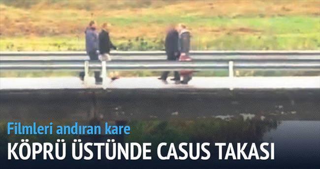 Köprüde casus takası