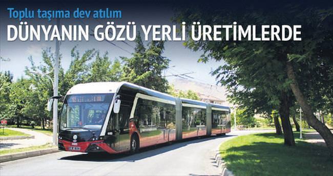 Yerli trambüsler, küresel vitrinde