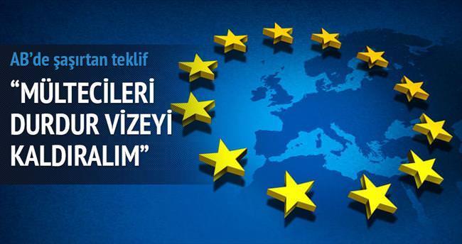 """Türkiye'ye 'Mültecileri durdur vizeyi kaldıralım' diyecekler"""""""