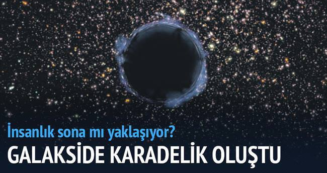 Yeni galakside büyük bir karadelik