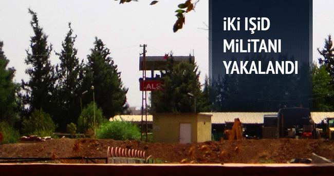 Sınırı geçmeye çalışan 2 IŞİD militanı yakalandı