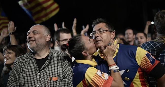Katalonya bağımsızlık dedi!