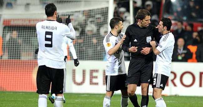 Beşiktaş-Sporting Lizbon maçına tanıdık hakem