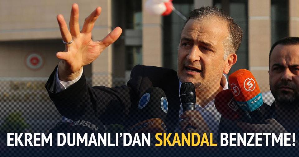 Ekrem Dumanlı'dan skandal benzetme!