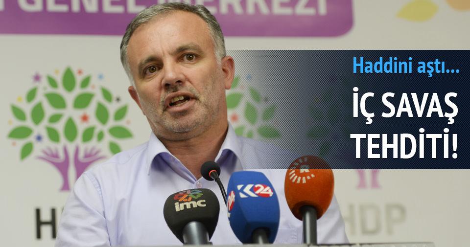 HDP'den seçimi boykot tehdidi!