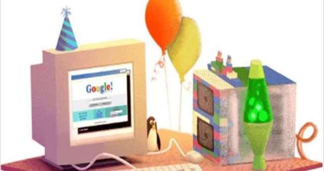 Google kendini doodle yaptı