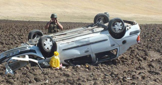 Takla atan araçta 4 kişi yaşamını yitirdi!