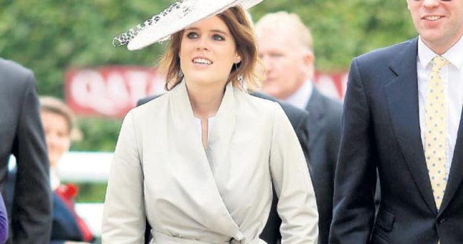 York Prensesi Eugenie'ye izin yasağı