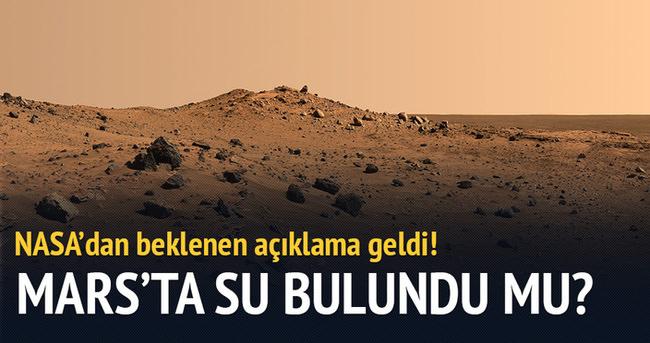 NASA'dan olay yaratan Mars açıklaması