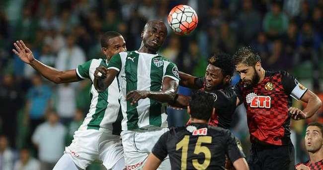 Bursaspor 3 puanı kaptı