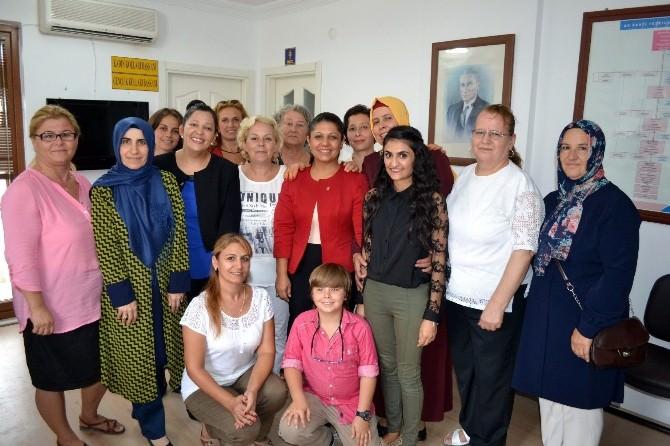 Datça AK Parti, Bayramda Datçalılarla Buluştu