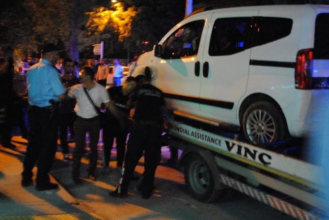 Amasya'da Alkollü Sürücü-polis Kovalamacasında Bir Polis Yaralandı