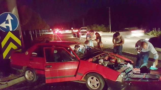Bayram Dönüşü Zincirleme Trafik Kazası, 1 Yaralı