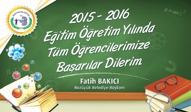 Yeni Eğitim Öğretim Yılı
