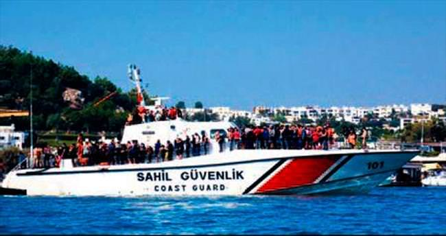 Ege Denizi'nde 417 kaçak yakalandı