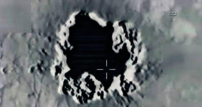 Terör kampları füzelerle yok edildi