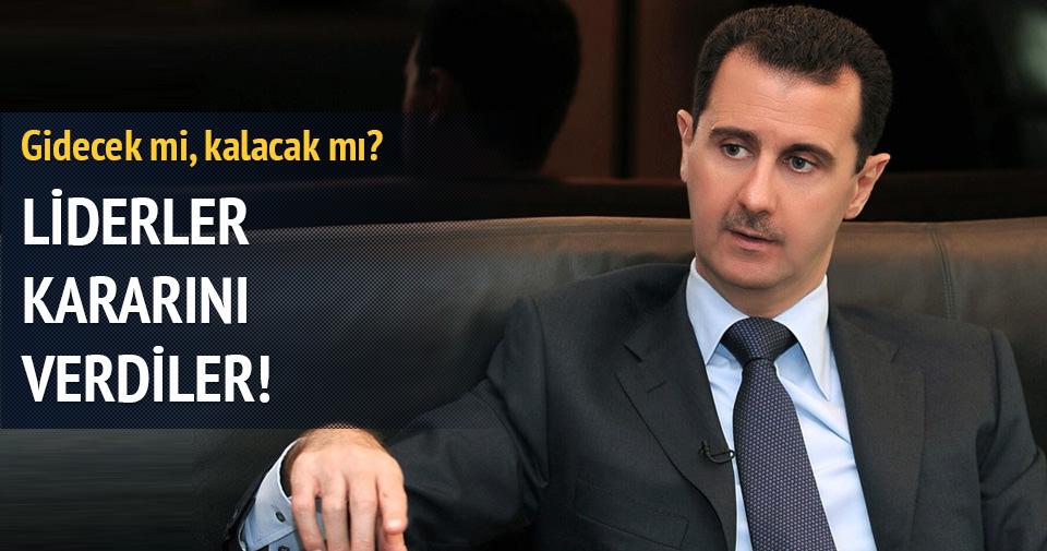 Suriye konusunda liderler anlaşamadı