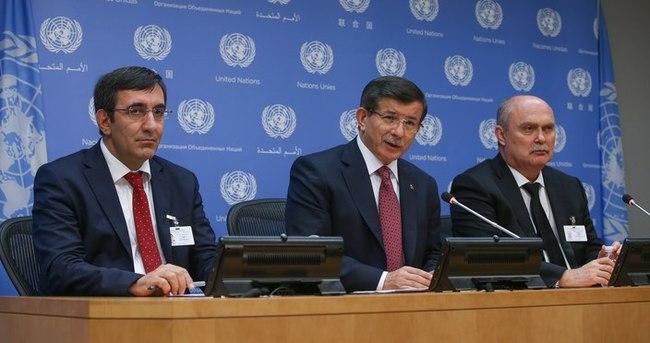 Davutoğlu: Uluslararası cami barış iradesinden kaçınmamalı!