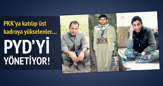 PKK'nın tecrübelileri PYD'yi yönetiyor!