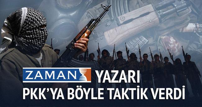 Cemaatten PKK'ya ilginç taktik!