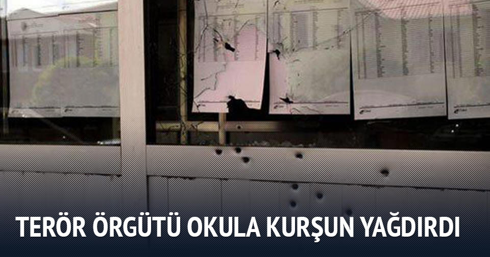 PKK'dan liseye bombalı ve silahlı saldırı